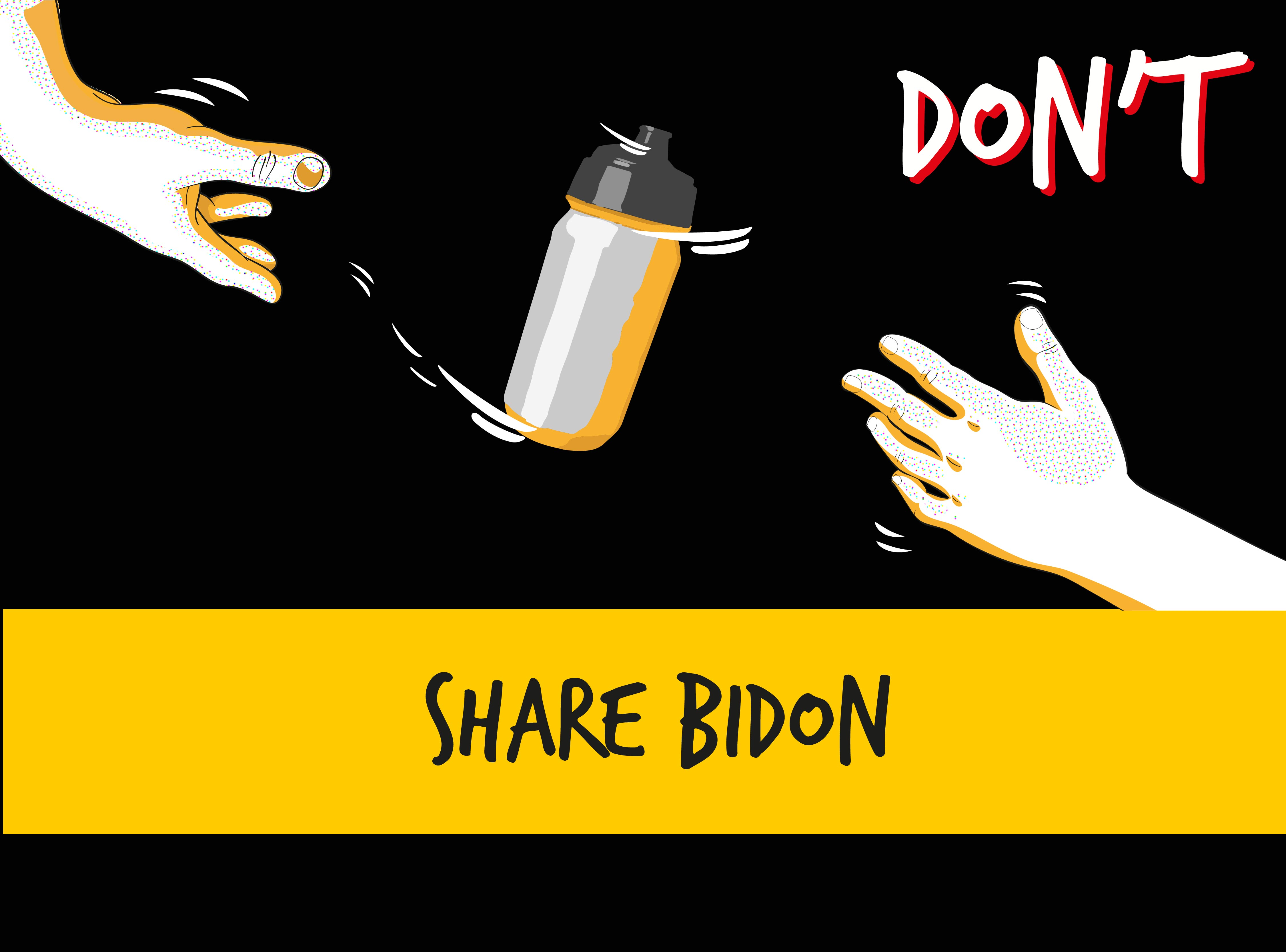 don't share bidon